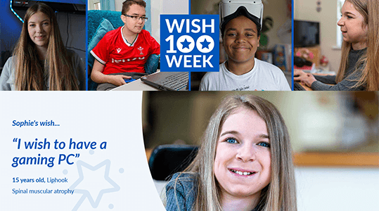 ⭐Make-A-Wish⭐Sophie's Story⭐