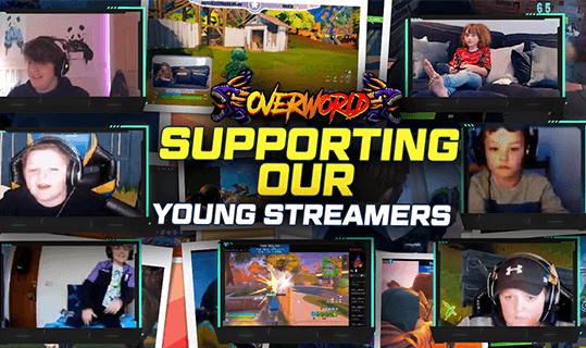 Supporting Our Young Streamers!!