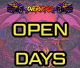 👨👩👧👦OVERWORLD OPEN DAYS👨👩👧👦